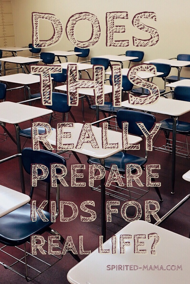 does classroom prepare kids for real life?
