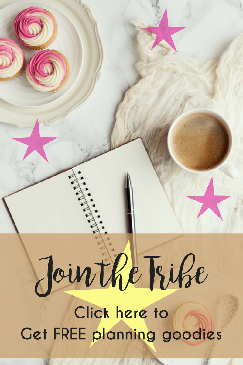 Get free planning tools and resources by signing up for my newsletter