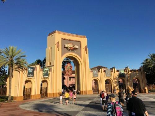 Universal Studios Orlando, main gate